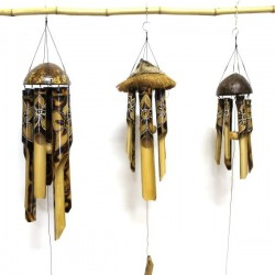Bambus Windspiele